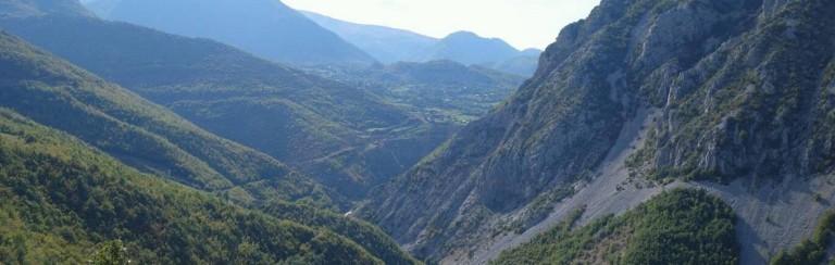 rimska cesta Albanie