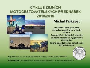 plakát přednáška Michal