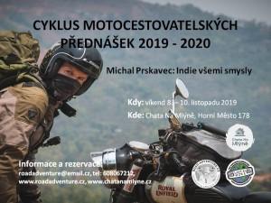 CYKLUS MOTOCESTOVATELSKÝCH PŘEDNÁŠEK 2019 - 2020 mp